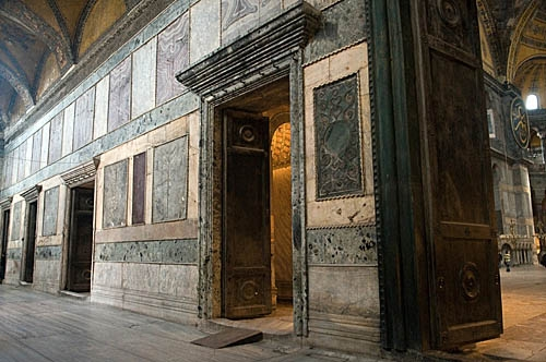 THe Narthex of Hagia Sophia