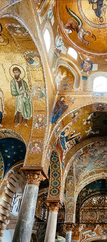 Byzantine Norman mosaics of Sicily