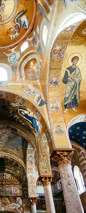the Palatine Chapel - Byzantine mosics