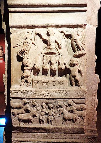 Hippodrome statue Porphyrios the chairoteer