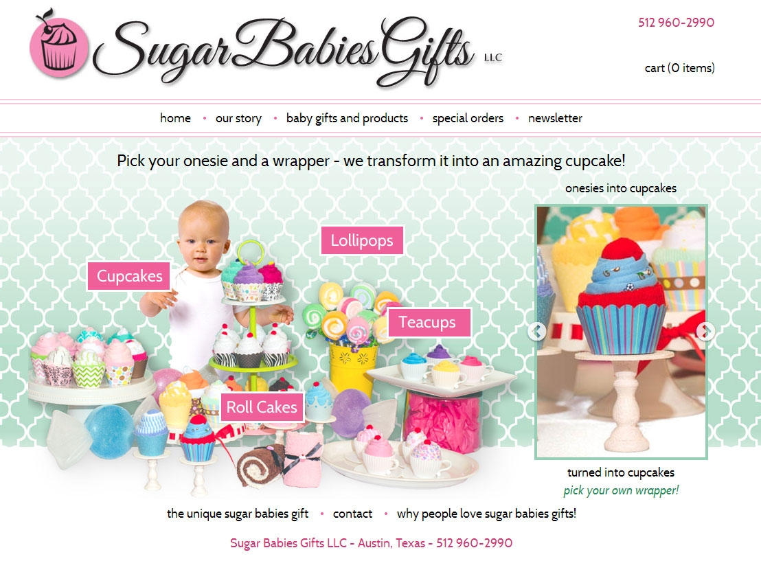 Sugar Design Group Is A Website: Pallasart Designs Sugar Babies Gifts Website