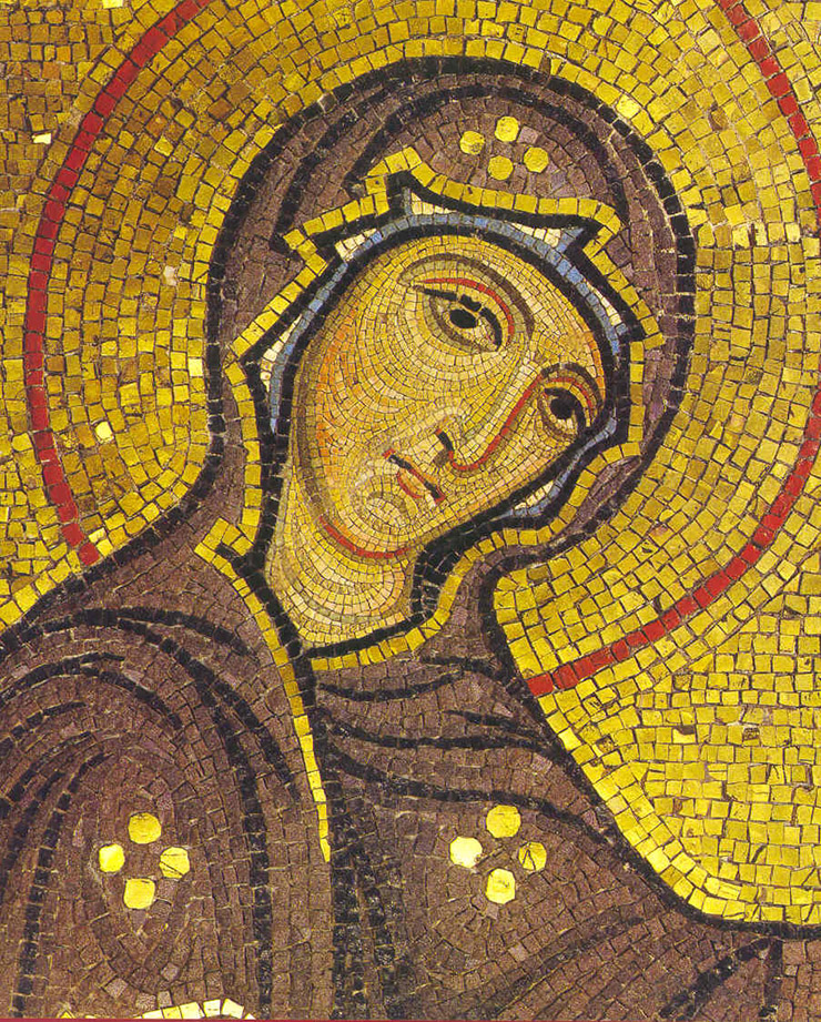 Mosaic of Theotokos George the Admiral