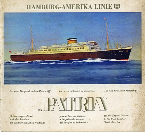 The Patria - Hamburg America Line