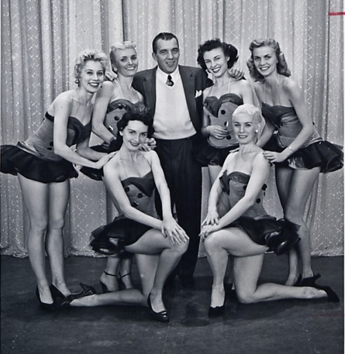 Ed Sullivan June Taylor Dancers Talk of the town