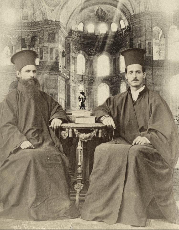 Two Priests in Hagia Sophia