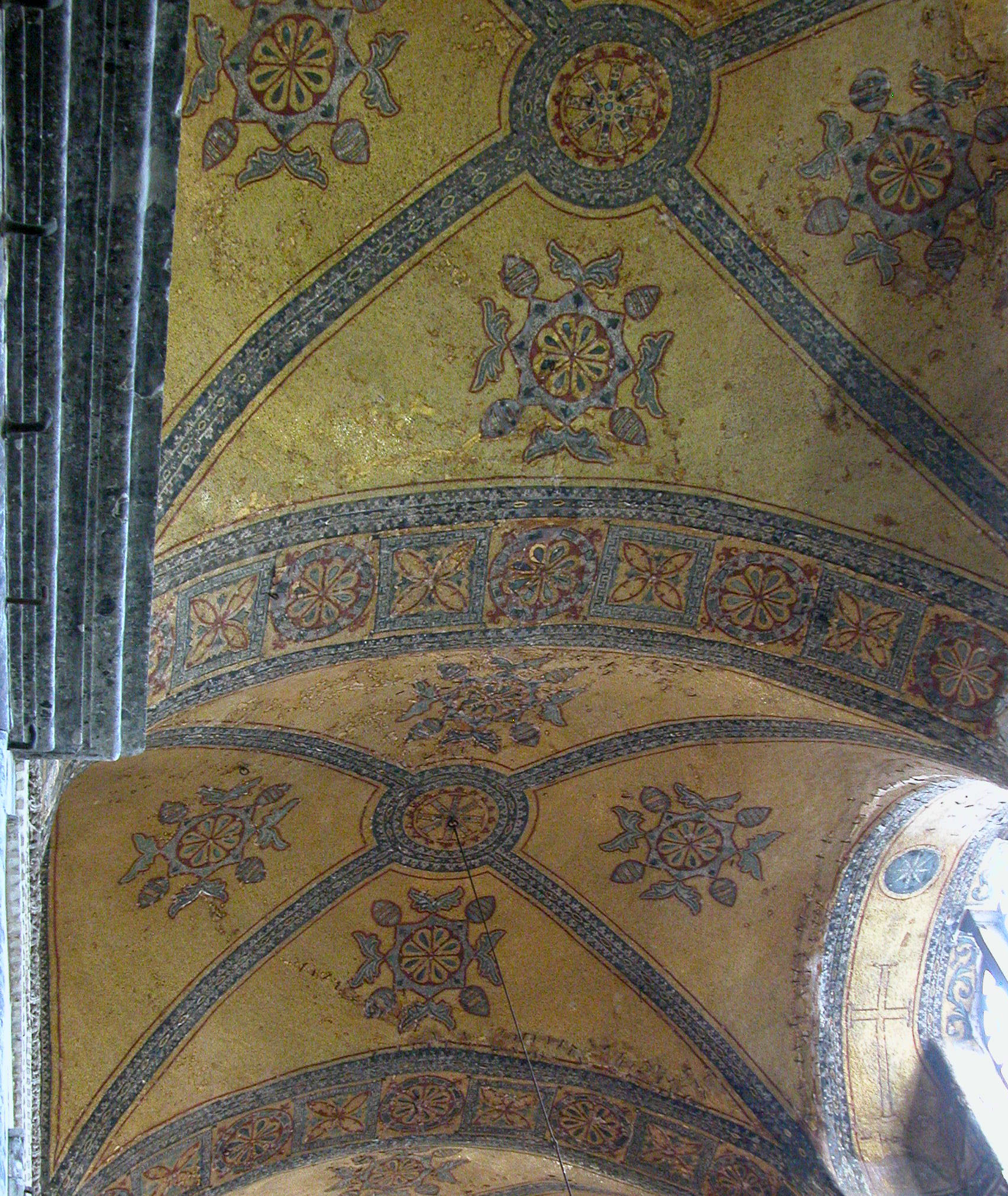 Vaults of the Inner Narthex of Hagia Sophia