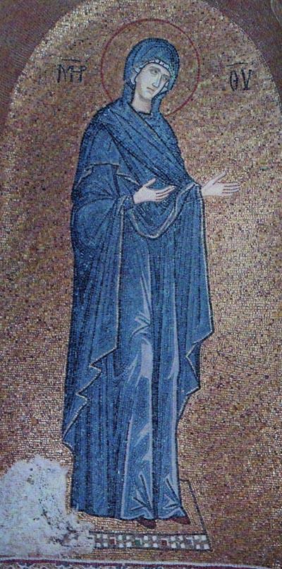 Theotokos from Deesis in Pammakaristos Church