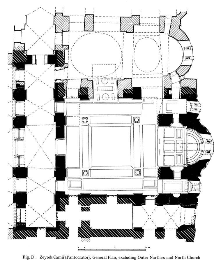 Pantokrator Zeyrek Plan