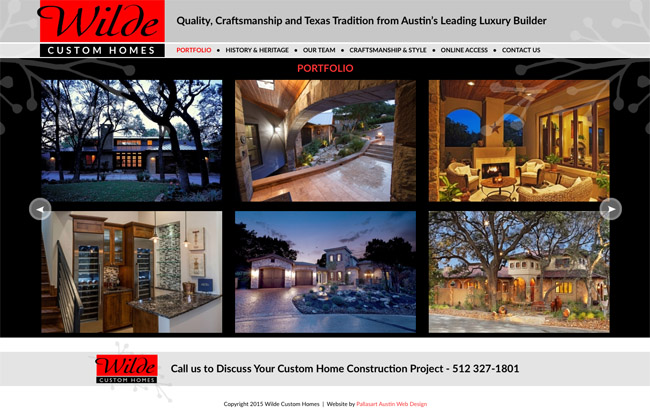 Wilde Homes - Pallasart - Luxury Home Builder in Texas